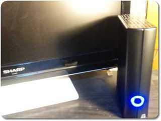 トランセンドHDDとアクオス液晶テレビ
